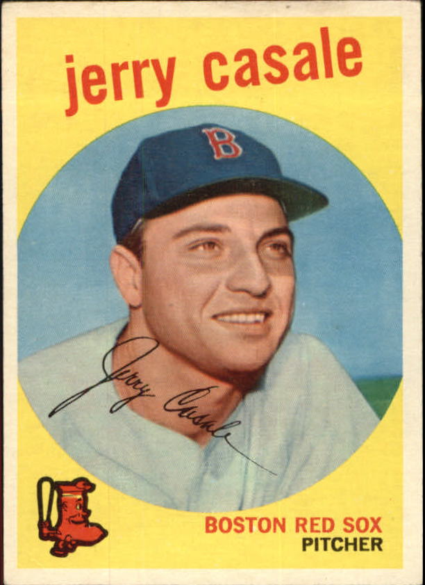 1959 Topps #456 Jerry Casale RC