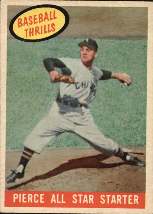 1959 Topps #466 Billy Pierce BT/AS Starter