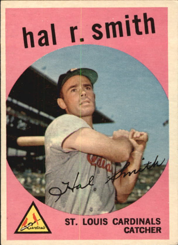 1959 Topps #497 Hal R. Smith