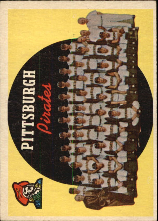 1959 Topps #528 Pittsburgh Pirates CL