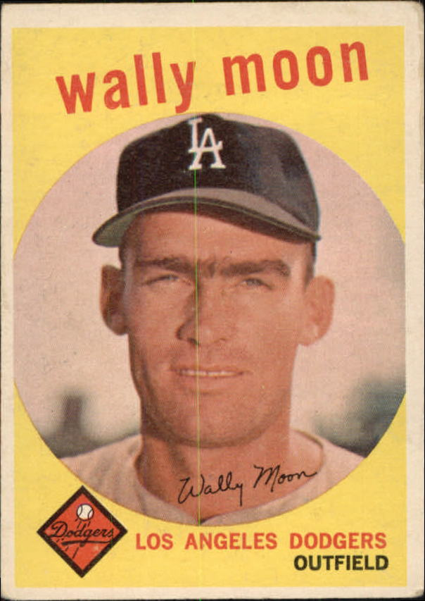 1959 Topps #530 Wally Moon