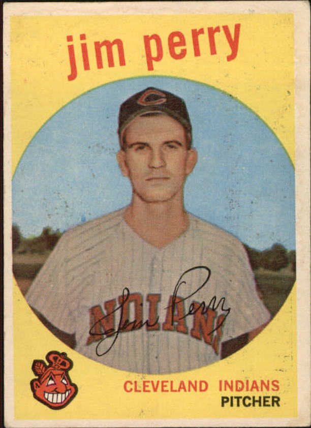 1959 Topps #542 Jim Perry RC