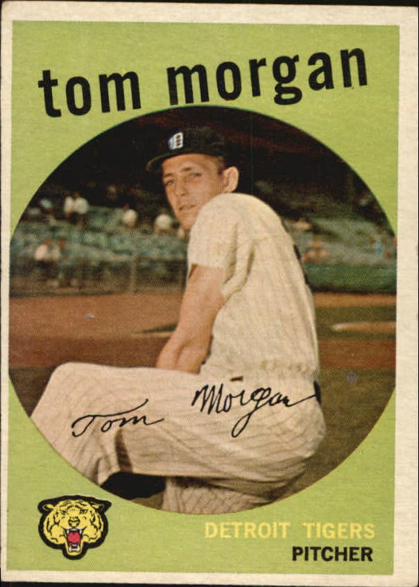 1959 Topps #545 Tom Morgan