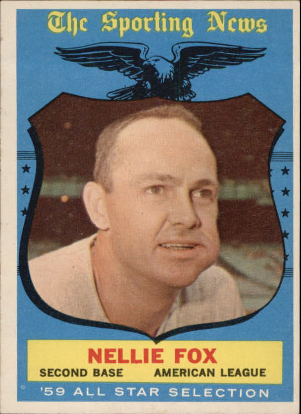 1959 Topps #556 Nellie Fox AS