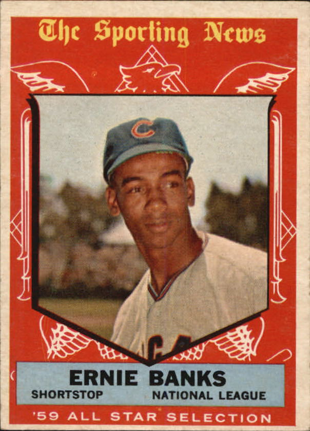 1959 Topps #559 Ernie Banks AS