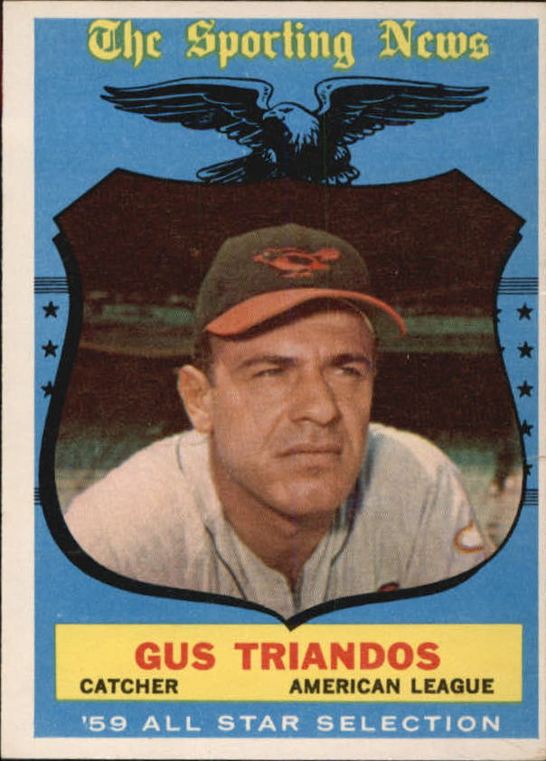 1959 Topps #568 Gus Triandos AS