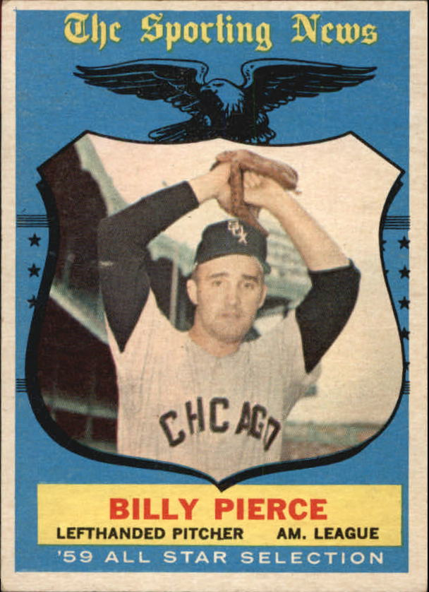 1959 Topps #572 Billy Pierce AS