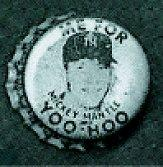 1959 Yankees Yoo Hoo Bottle Caps #6 Mickey Mantle