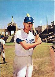 1960 Dodgers Morrell #7 Wally Moon