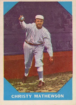 1960 Fleer #2 Christy Mathewson