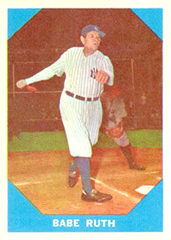 1960 Fleer #3 Babe Ruth