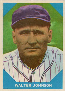 1960 Fleer #6 Walter Johnson DP