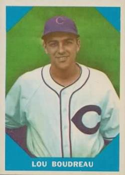 1960 Fleer #16 Lou Boudreau DP