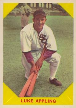 1960 Fleer #27 Luke Appling