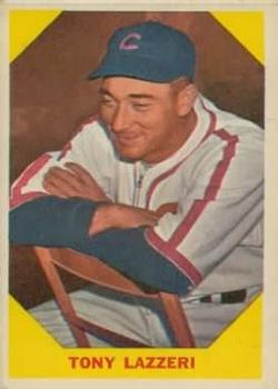 1960 Fleer #31 Tony Lazzeri DP