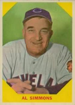 1960 Fleer #32 Al Simmons
