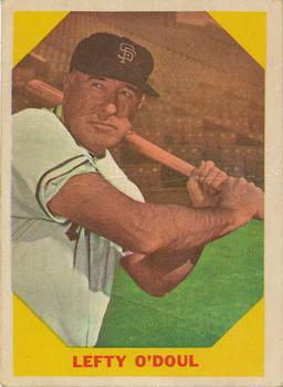 1960 Fleer #37 Lefty O'Doul