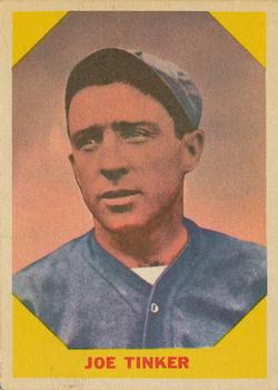 1960 Fleer #40 Joe Tinker