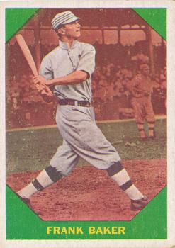 1960 Fleer #41 Frank Baker DP