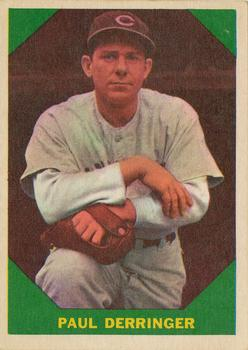 1960 Fleer #43 Paul Derringer