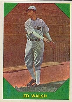 1960 Fleer #49 Ed Walsh UER/(Photo actually/Ed Walsh Jr.)