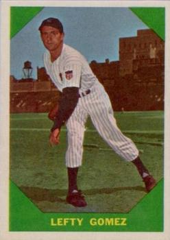 1960 Fleer #54 Lefty Gomez