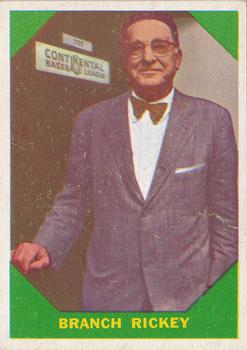 1960 Fleer #55 Branch Rickey
