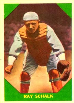 1960 Fleer #56 Ray Schalk DP