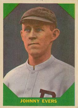 1960 Fleer #57 Johnny Evers