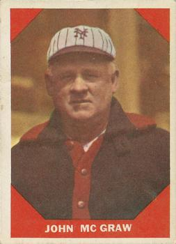 1960 Fleer #66 John McGraw DP