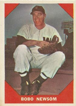 1960 Fleer #70 Bobo Newsom
