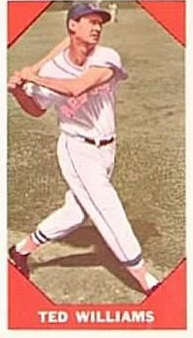1960 Fleer #72 Ted Williams