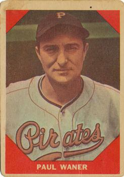 1960 Fleer #76 Paul Waner DP