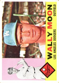 1960 Topps #5 Wally Moon front image