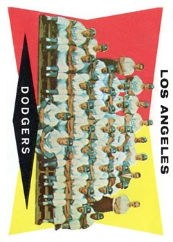 1960 Topps #18 Los Angeles Dodgers CL