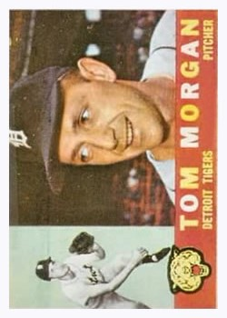 1960 Topps #33 Tom Morgan