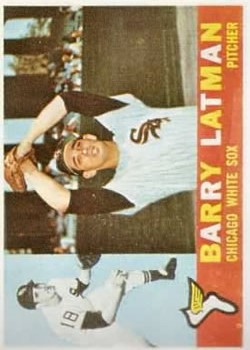 1960 Topps #41 Barry Latman