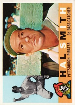 1960 Topps #48 Hal W. Smith