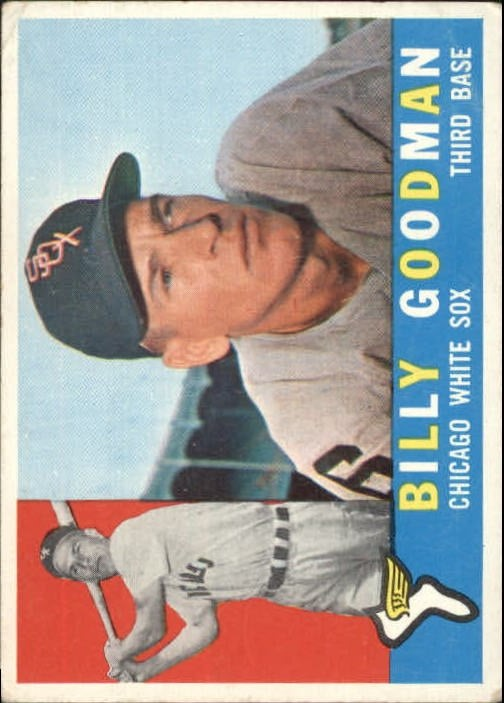 1960 Topps #69 Billy Goodman front image