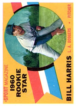 1960 Topps #128 Bill Harris RS RC