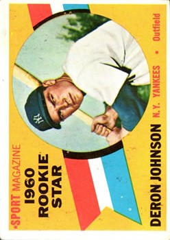 1960 Topps #134 Deron Johnson RS