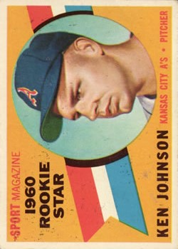 1960 Topps #135 Ken Johnson RS RC