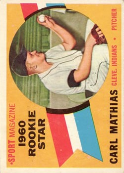 1960 Topps #139 Carl Mathias RS RC