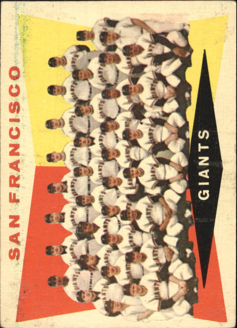 1960 Topps #151 San Francisco Giants CL