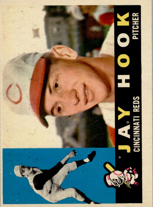 1960 Topps #187 Jay Hook RC