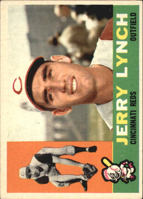 1960 Topps #198 Jerry Lynch