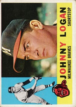 1960 Topps #205 Johnny Logan
