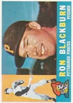 1960 Topps #209 Ron Blackburn