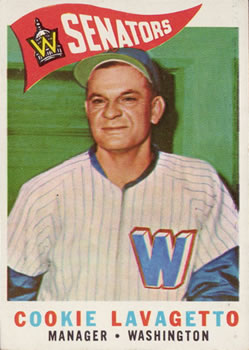 1960 Topps #221 Cookie Lavagetto MG
