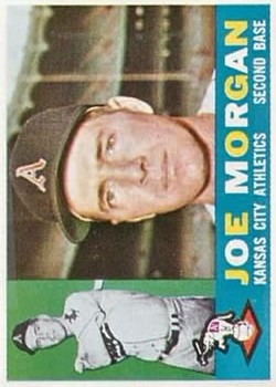 1960 Topps #229 Joe M. Morgan RC